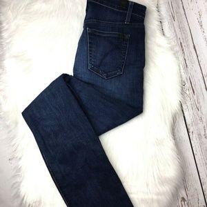 Joes Jeans Hi rise dark wash skinny jeans size 28